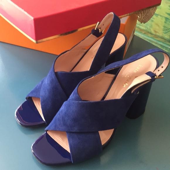 2cd713d0e kate spade Shoes - Kate Spade Christopher in Garden Blue Pate